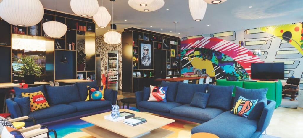 citizenM Hotel DC Lounge